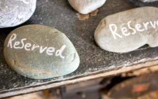 The Wilcove Inn reserved stones